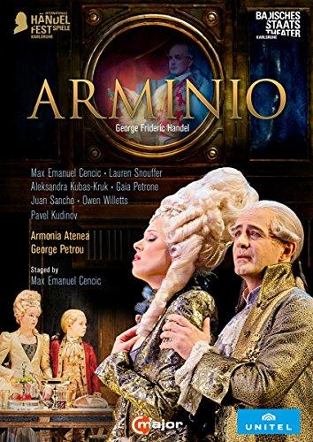 Handel: Arminio [Max Emanuel Cencic; Gaia Petrone; Lauren Snouffer; Juan Sancho; Pavel Kudinov] [C Major Entertainment: 744408] [2 DVDs]