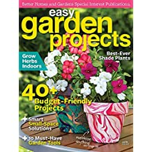 Easy Garden Projects 2016 (English Edition)