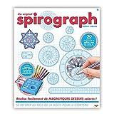 SPIROGRAPH - COFFRET A DESSIN - Outil de dessin avec pochoirs intégrés contient plus de 30 pièces