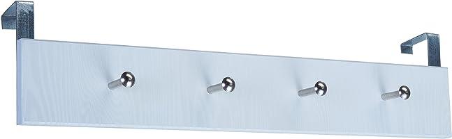 Adilon Ahşap Amerikan Kapı Arkası Askı, 4 Lü, Beyaz