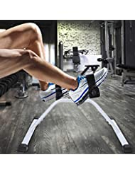 Mini Bike Heimtrainer, Pedaltrainer Bewegungstrainer Trainingsgerät Arm und Leg für Zuhause/Büro unter den Schreibtisch, Adjustable Resistance Biketrainer