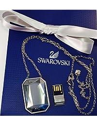 Colgante Swarovski Supremo USB 8GB silver-toned Active Crystals Ref 5064568