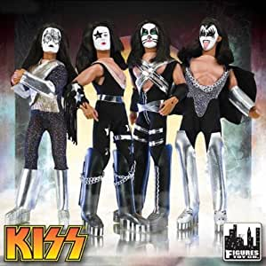 KISS 8 inch Retro Action Figure Dolls Series One - set of 4