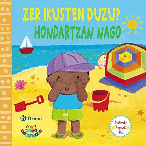 Zer ikusten duzu? Hondartzan nago (Euskara - 0 Urte + - 0-3 Urte Proiektua - Zentzumenak Lantzeko Liburuak) por Macmillan Publishers