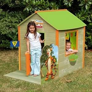 Maison de jardin Winnie et Tigrou Couleur Multicolore Matière MDF