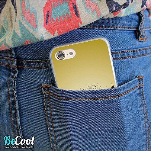 BeCool®- Coque Etui Housse en GEL Flex Silicone TPU Iphone 8, Carcasse TPU fabriquée avec la meilleure Silicone, protège et s'adapte a la perfection a ton Smartphone et avec notre design exclusif. Exp L1531