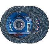 10 x PFERD POLIFAN-Fächerscheibe PFR 125-L Z 40 SGP CURVE STEELOX| Art.: 67689062