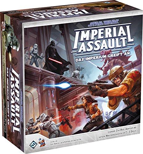 Asmodee  HEI1300 - Star Wars Imperial Assault - Das Imperium greift an