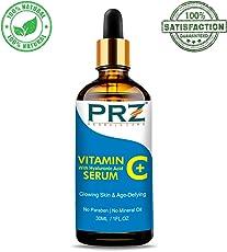 PRZ Vitamin C Serum with Hyaluronic Acid, 30ml
