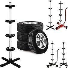 Felgenbaum bis 225er Reifen | bis max. 225 | Modellauswahl (225mm und 295mm) mit und ohne Schutzhülle | Reifenständer Reifenhalter Felgenhalter Autoreifen