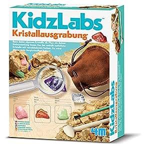 4M - 68555 - Kit Scientifique - Kidz Labs - Kit de la Mine de Cristal