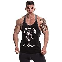Gold's Gym Muscle Joe Contrast, Gilet Uomo