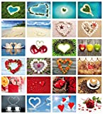 "Edition Colibri Postkarten-Set Liebe ""Love-Cards"""
