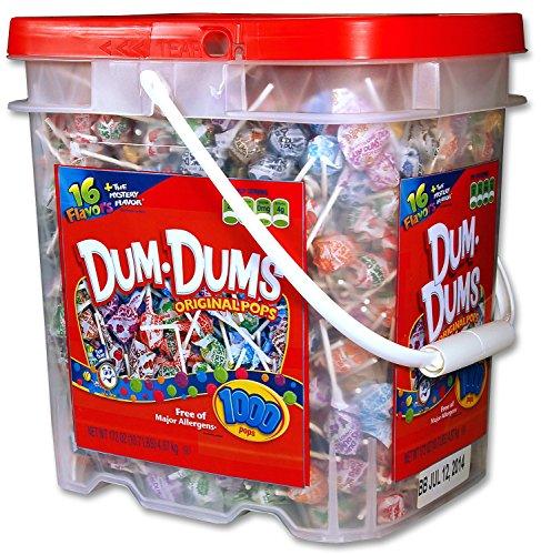 - Dum Dum Pops in a Tub, 1000-Count