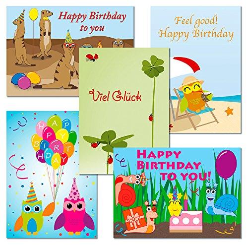 10-postkarten-set-eulen-erdmnnchen-schnecken-marienkfer-geburtstagskarten-1111-17-34-53-71