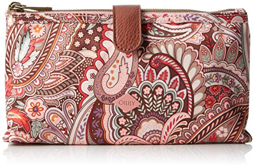oilily-womens-oilily-double-flat-make-up-pouches-pink-size-24x5x12-cm