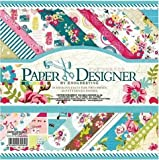 #2: KABEER ART® Paper Designer Beautiful Pattern Design Printed Papers for Art n Craft(Size: 8x 8 Inch) Sweet Life