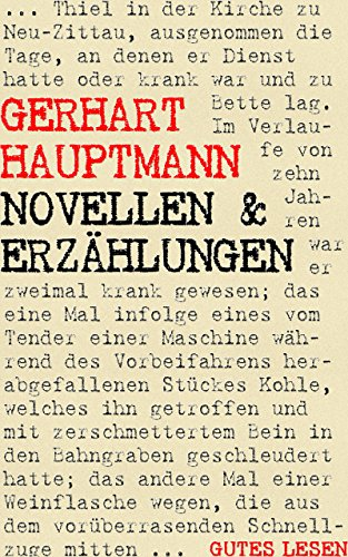 Novellen und Erzählungen (Und Weiß-narr Schwarz)