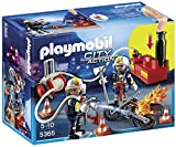 Playmobil 5365 City Action Fire Brigade Firefighters With Water Pump   Multi Coloured