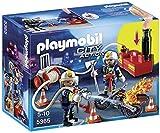 Playmobil - 5365 - Jeu De Construction - Pompiers Avec Lance Incendie