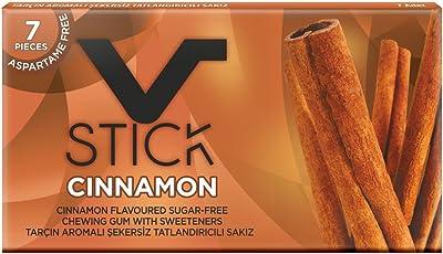Vstick Premium chewing gum (Pack of 5) (Cinnamon)