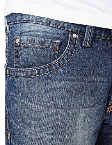Pioneer Lake - Jeans - Droit Homme Blau (dark used 544)