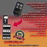 Kompatibel mit Model PS94331,94330E,94332E,94333E,94335E,84333E, 84335E, 8747E, 84330EML,84333EML, 84335EML, 8747EML,94335E Handsender ersatz