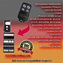 ps94331,94330e, 94332e, 94333e, 94335E, 84333e, 84335e, 8747e, 84330eml, 84333eml, 84335EML, 8747eml, 94335E Repuestos para emisor manual de mando a distancia, 433.92MHz, Rolling Code