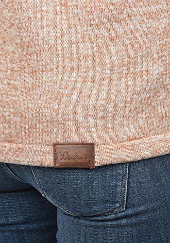 DESIRES Thory Damen Fleecejacke Sweatjacke Jacke Mit Kapuze Und Daumenlöcher, Größe:M, Farbe:Ma. Rose M (4203M) - 4