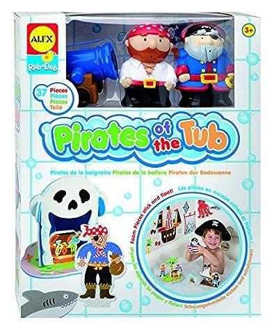 Alex Rub A Dub Pirates Of The Tub Bath Toy by Cuckoo