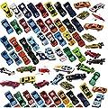 Prextex 100 Stk druckgegossene Spielzeugautos Party Gelegenheiten oder Kuchenaufsätze Spielzeug Autos für Kinder von Prextex