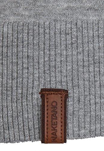 Naketano Female Knit Maja Big Anchor IV Grey Melange
