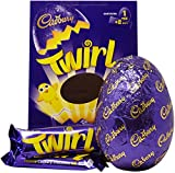Cadbury Twirl Large Easter Egg Chocolate, 282 g
