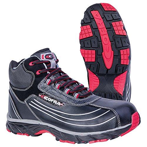 Cofra, JV018-000, Sicurezza Alta scarpe dimensioni stivali Nuovo Phantom S3 lavoro Volare sicurezza 44, nere