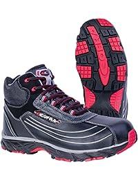 Cofra JV018-000 - Seguridad zapatos altos nueva talla botas de seguridad en el trabajo s3 fantasma volar 44, negro,