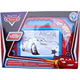 Boys Disney Cars Magnetic Scribbler with Stampers & Magic Pen