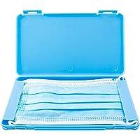 TBOC Custodia per Mascherina - Scatola Rettangolare [Blu] Portaoggetti per Maschere Organizzatore Portatile in Plastica…