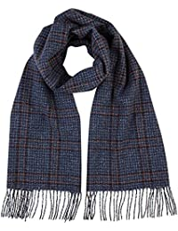 484e98d1d0c Johnstons of Elgin - Pure Cashmere - Donegal Windowpane Scarf