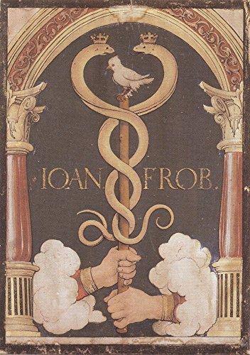 Das Museum Outlet-Drucker 's Gerät Johannes froben. c.1523-Leinwanddruck Online kaufen (101,6x 127cm) -