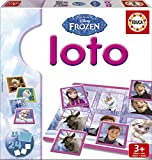 Educa Borrás Frozen - Loto, juego de mesa 16254