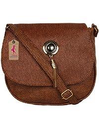 Ritupal Collection Fashionable Sling Bag (Brown Sling)