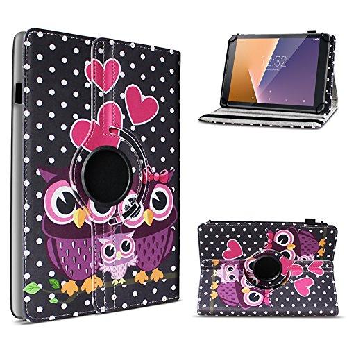Vodafone Tab Prime 6 / 7 robuste Tablet Schutz Hülle aus hochwertigem Kunstleder Tasche mit Standfunktion 360° drehbar Universal Cover Case kombiniert Schutz und Design, Farben:Motiv 3