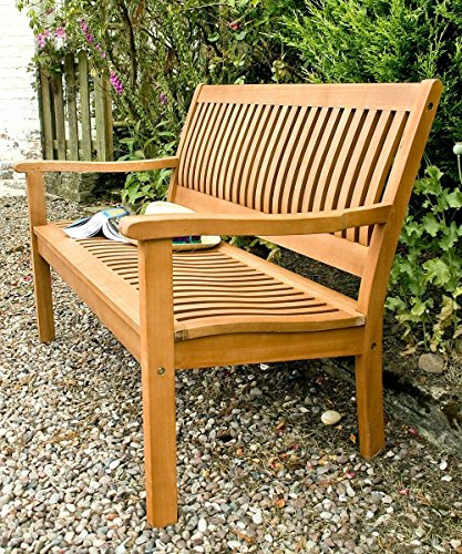 Rowlinson Willington 2-Seater FSC Hardwood Bench