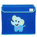 Kids Toy Storage Box - Blue Color - Elep...