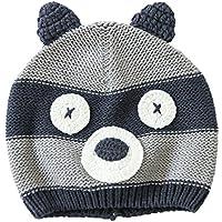 Uomini Ragazzi Moda Autunno Inverno Orso Bambino Bambini Cappello Cappello