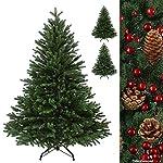 BB Sport Albero di Natale Artificiale di Lusso in polietilene Abete in Diverse Misure e Colori 100% pressofusione