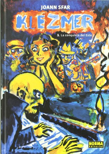 Klezmer 1 La conquista del este/ Tales of the Wild East Cover Image