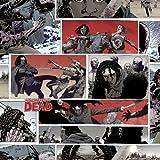 Baumwollstoff mit Comic-Motiv: The Walking Dead Zombies,