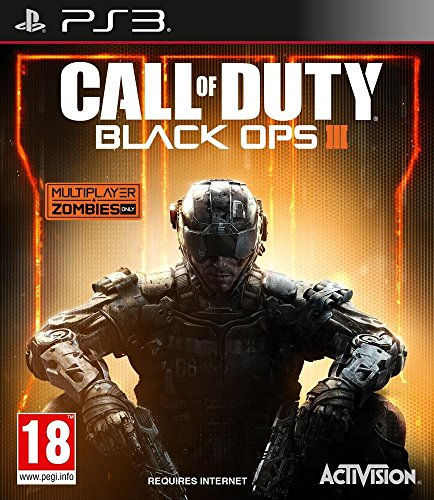 Activision Call of Duty: Black Ops 3, PS3 - video games (PS3, PlayStation 3, Physical media, FPS (First Person Shooter), Treyarch, 06/11/2015, M (Mature))