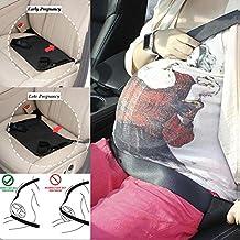 Lovelyz Cinturon Embarazada Para Coche – Soporte Para los Vientres de Las Mujeres, Seguridad Extra Para el bebé y su Madre. Aprobado ante las Normativas Europeas